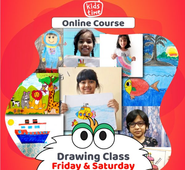 kidstime online drawing course