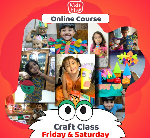 Kids Time online crafting course