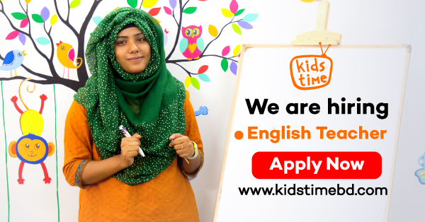 english teacher recruitment kids time