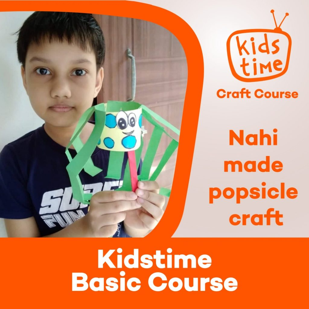 crafting course kids time